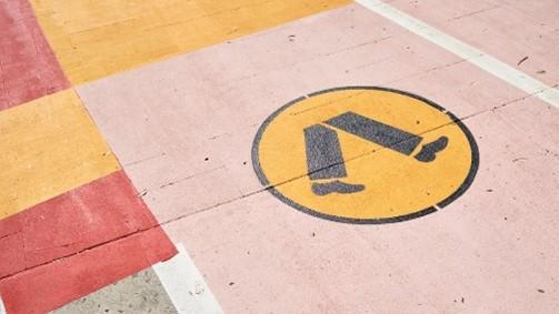 ms walking sign