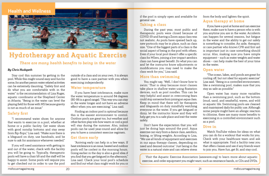 hydrotherapy article